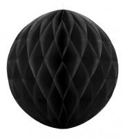 Wabenball - 40 cm - schwarz