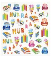 """Design-Sticker """"Schulanfang"""" - 1 Bogen"""