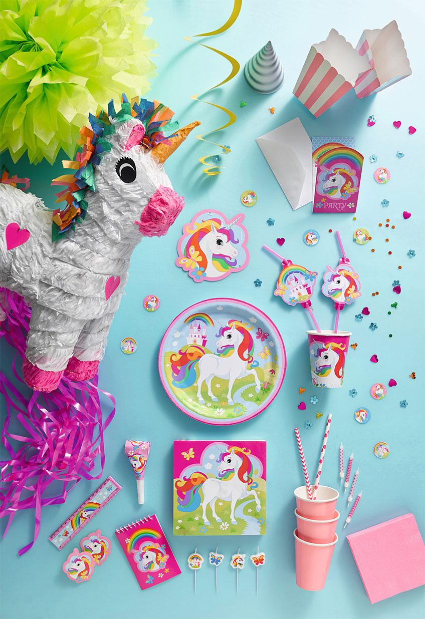 Be a unicorn von pastell schimmernd bis bunt verspielt so dekoriert ihr eure einhornparty - Einhorn party deko ...