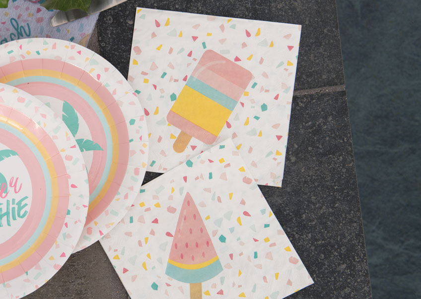 Geburtstag fruchtig bunt & schön mit Eisparty und richtig passender Deko