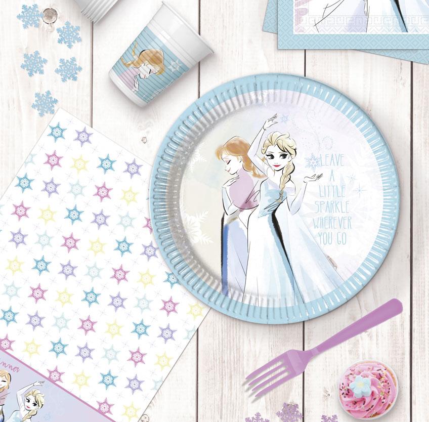 Die Eiskönigin ist ein beliebtes Motto für den Kindergeburtstag