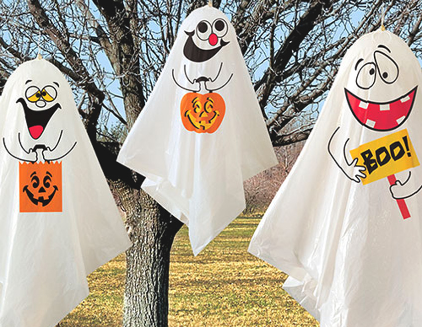 Geister Und Gespenster Zu Halloween Pink Dots Partystore Deko Blog