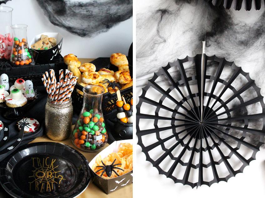 Kreativ Und Edel Ist Der Halloween Sweet Table Pink Dots