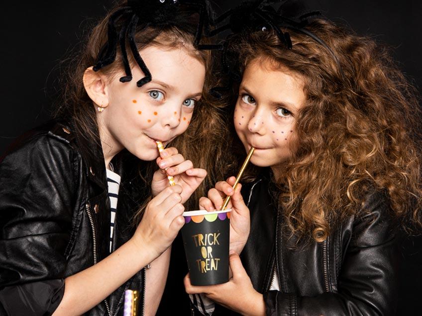 Dekorier dich für die Halloween-Kinderparty schön ein!