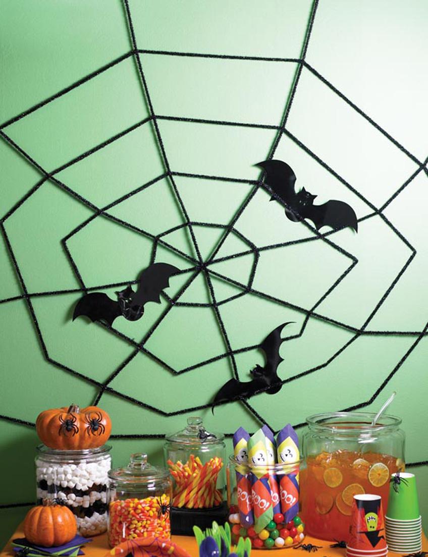 Gespenstische halloween dekoration selbst basteln pink for Dekoration halloween