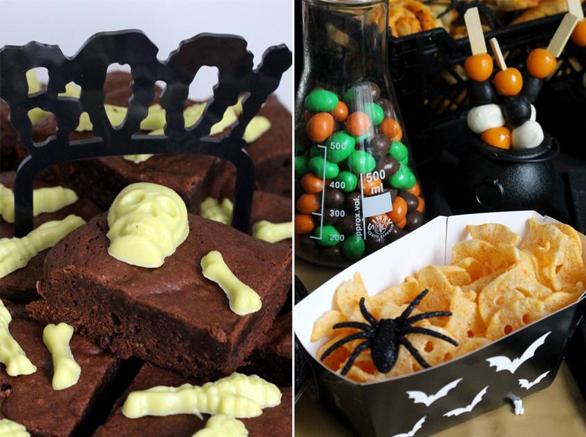 Halloween Ideen Essen.Geisterhafte Snack Ideen Fur Den Halloween Sweet Table