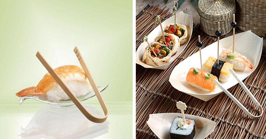Gut für die Umwelt und den Partytisch - Geschirr aus Holz