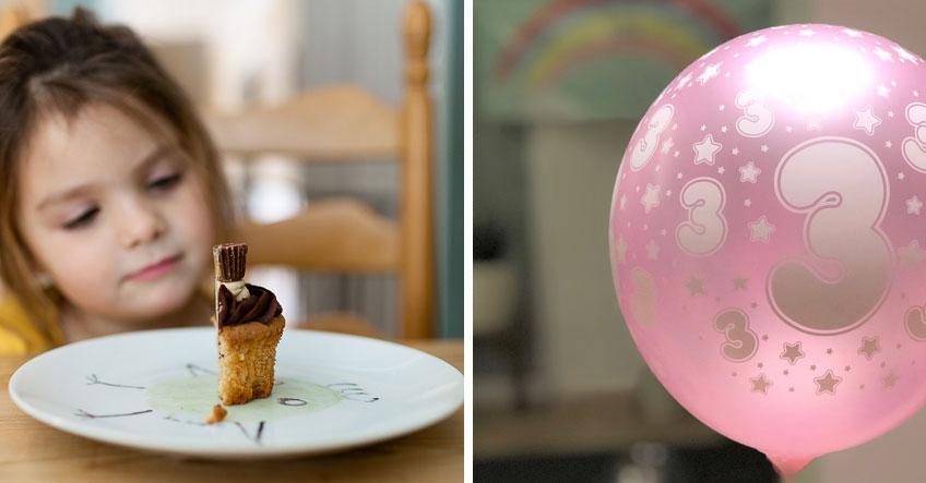 Wenn die Geburtstagsparty ausfällt - Mach deinem Kind einen schönen Tag mit Deko & Süßem