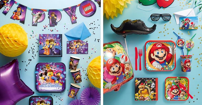Lego oder Super Mario? Welches Motto wünscht sich dein Kind zum Geburtstag?