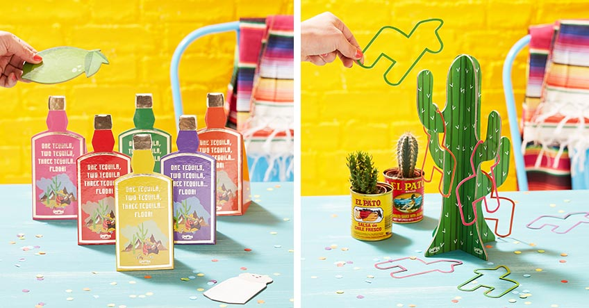 Finde im Pink Dots Shop tolle Spiele für deine Mexican Fiesta