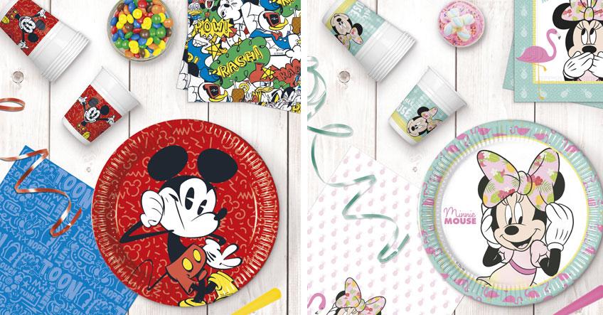 Überrasch dein Kind zum Geburtstag mit Deko von Mickey und/oder Minnie Maus