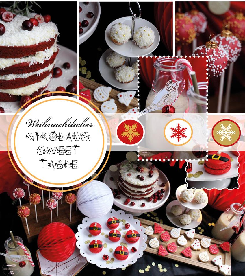 nikolaus sweet table eine kleine weihnachts deko. Black Bedroom Furniture Sets. Home Design Ideas