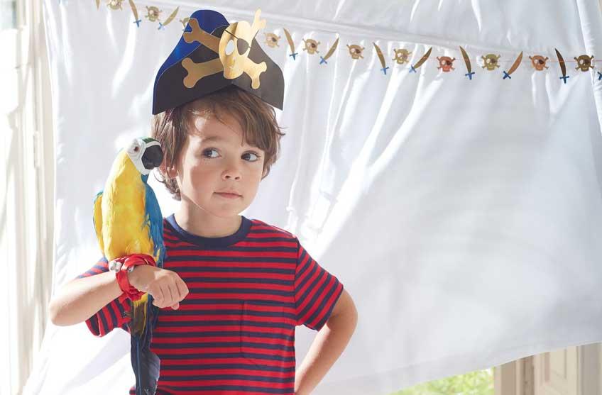 Eine Schatzsuche macht jedem Piraten Spaß! Ob groß oder klein - Piraten-Deko von Meri Meri (c) Meri Meri