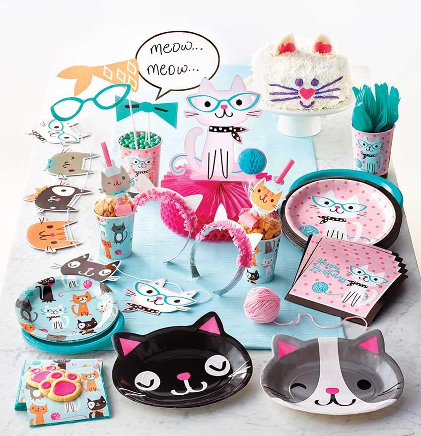 """Die Deko-Serie """"Kleine Katzen"""" ist purr-fect für den Katzenparty-Kindergeburtstag"""