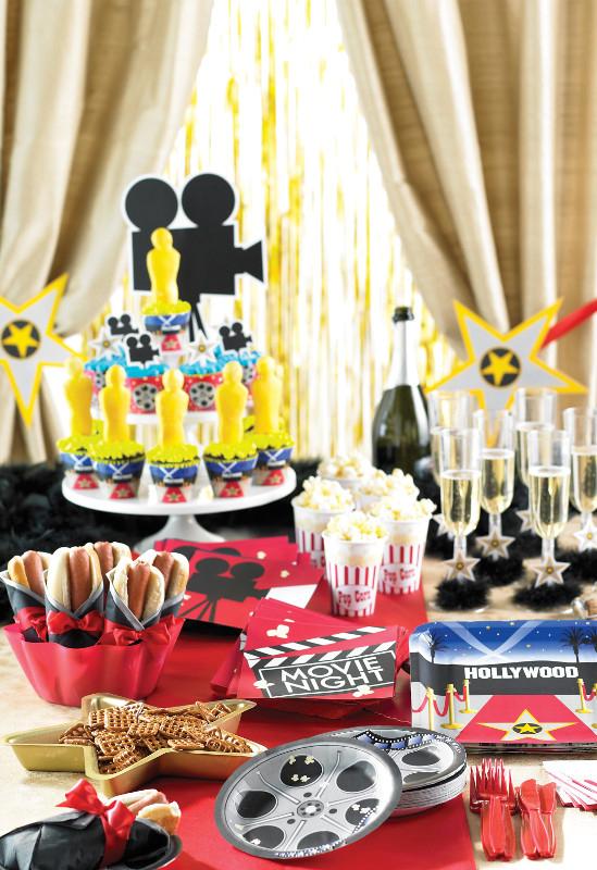 oscars hollywood party das motto f r stars und sternchen pink dots partystore deko blog. Black Bedroom Furniture Sets. Home Design Ideas