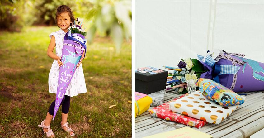 Mit ein paar Geschenken fühlt sich dein Kind bestimmt schon bereiter für den Schulstart (c) Nadine Barthold