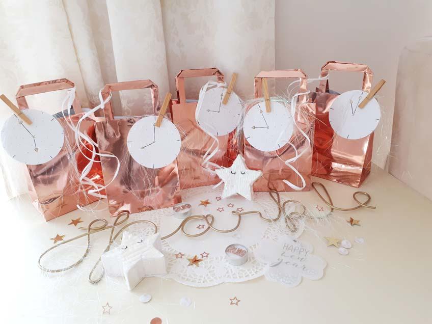 Fertig gepackte Countdown Bags für Silvester (c) lxoxndxoxn