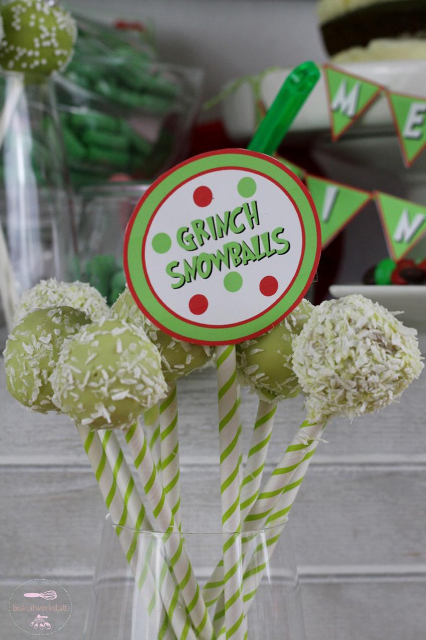 Paper Straw Cake Pop
