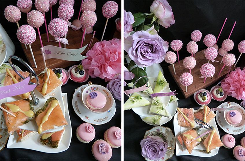 Versetzt euch in ein romantisches Märchen mit wunderschöner Deko in Flieder und Rosa