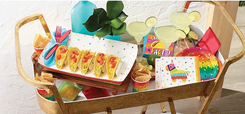 Deine Mexican Fiesta kann unterschiedlichen Stils folgen - schau mal bei uns rein :)