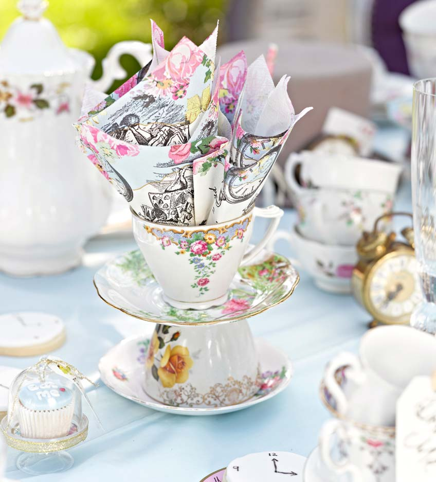 IT\'S TEA TIME - 5 tolle Ideen für eure Teeparty | Pink Dots ...