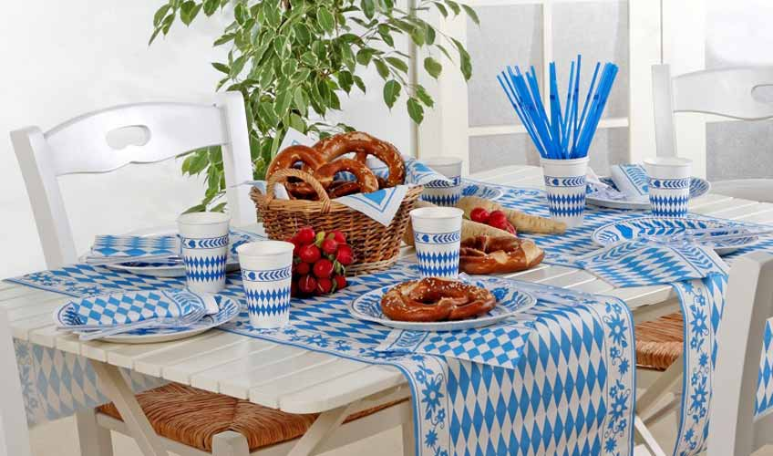 Bayrische Tischdeko Affordable Deko Herzen Bayern With Bayrische