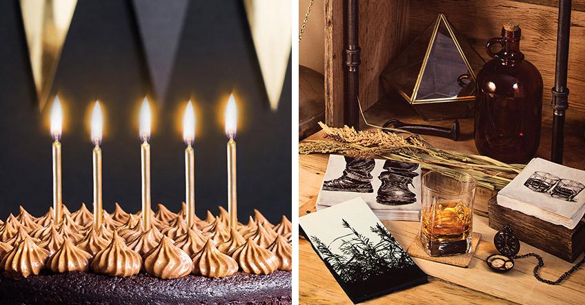 Dekorier den Männergeburtstag passend zum Charakter des Geburtstagskinds