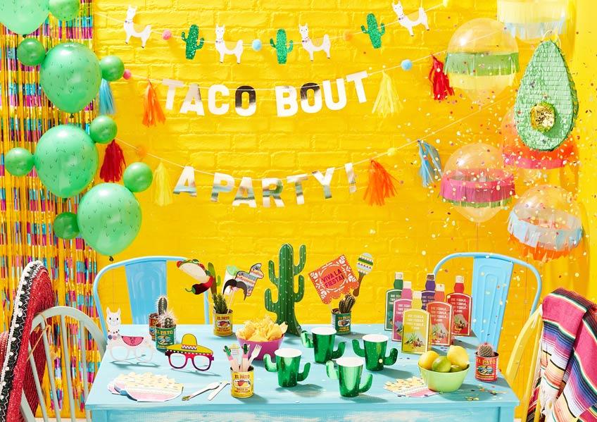 Mach deine Fiesta-Gäste glücklich mit mexikanischer Deko