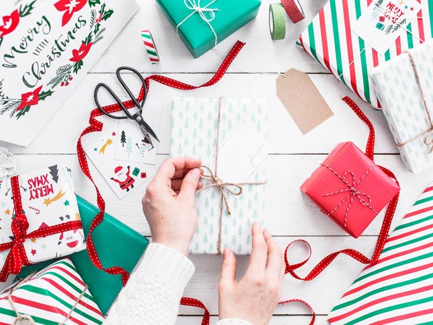 Moderne Deko für die Firmen-Weihnacht