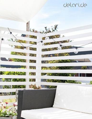 Dekorier deinen Balkon für die Sommerparty (c) delari.de