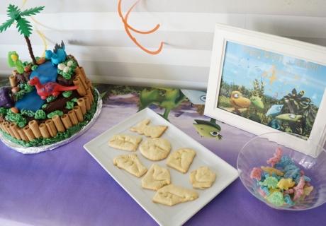 Kleine süße Leckereien für die Dino-Party