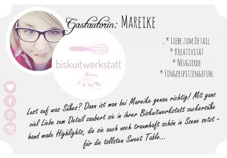 Mareike zaubert in ihrer Biskuitwerkstatt die wunderbarsten Leckereien