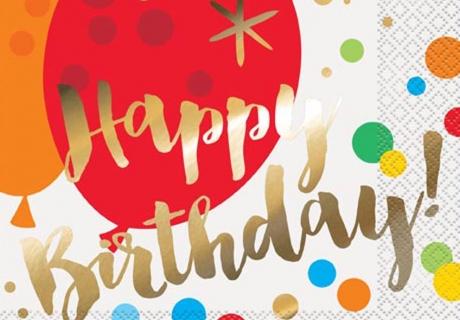 Schöne Geburtstagsdeko darf auch günstig sein - an Fasching ist das ganz leicht