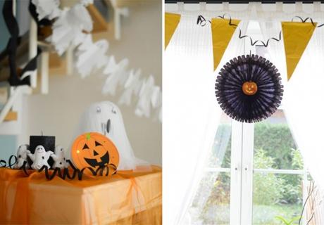 Süße Deko statt schauriger Grusel an Halloween
