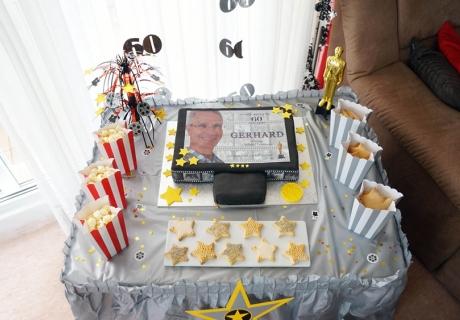 Überrascht das Geburtstagskind oder die Gäste mit einem Hollywood Sweet Table
