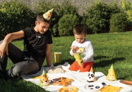 Mit wenig Aufwand kannst du dein Kind mit einem schönen Geburtstags-Picknick im Garten überraschen!