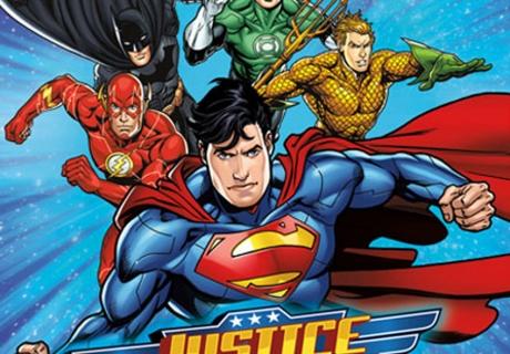 Heldensouvenirs - Justice League auf den Mitgebseltüten