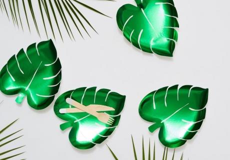 Toller Sommertrend- Hol dir die schillernden Palmen-Teller (c) Meri Meri