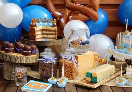 Schmankerl auf dem Oktoberfest Sweet Table (c) Mareike Winter - Biskuitwerkstatt