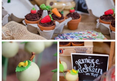 "Der Sweet-Table steht unter dem Motto ""Farmers Market"""