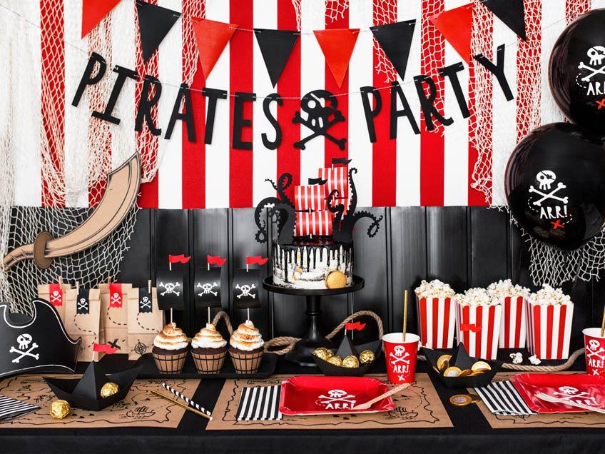 Erbeute tolle Deko für die Piratenparty!